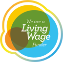 We Are A Living Wage Friendly Funder