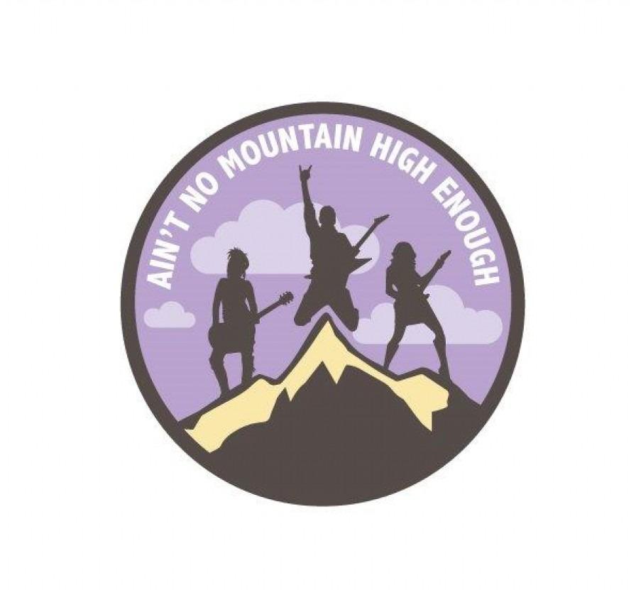 Ain't No Mountain High Enough music project logo