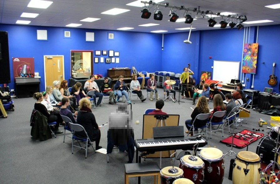 Our Band With Plymouth Music Zone Youth Music Network