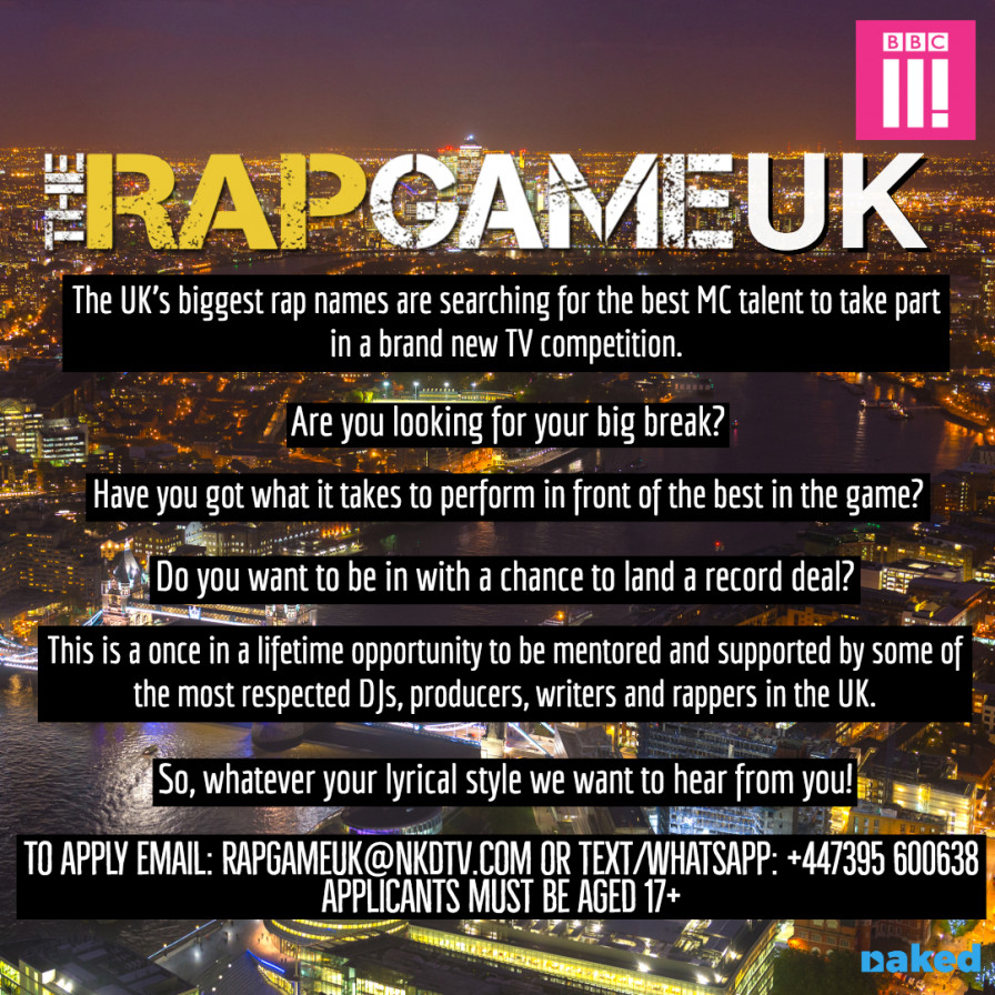 The Rap Game Uk - TV Competition Series | Youth Music Network