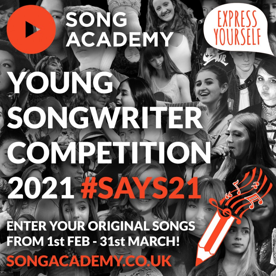 The Young Songwriter 2021 competition | Youth Music Network