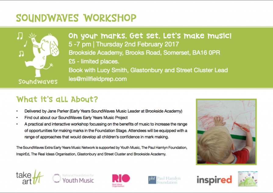 SoundWaves Extra Early Years Music Network for the South
