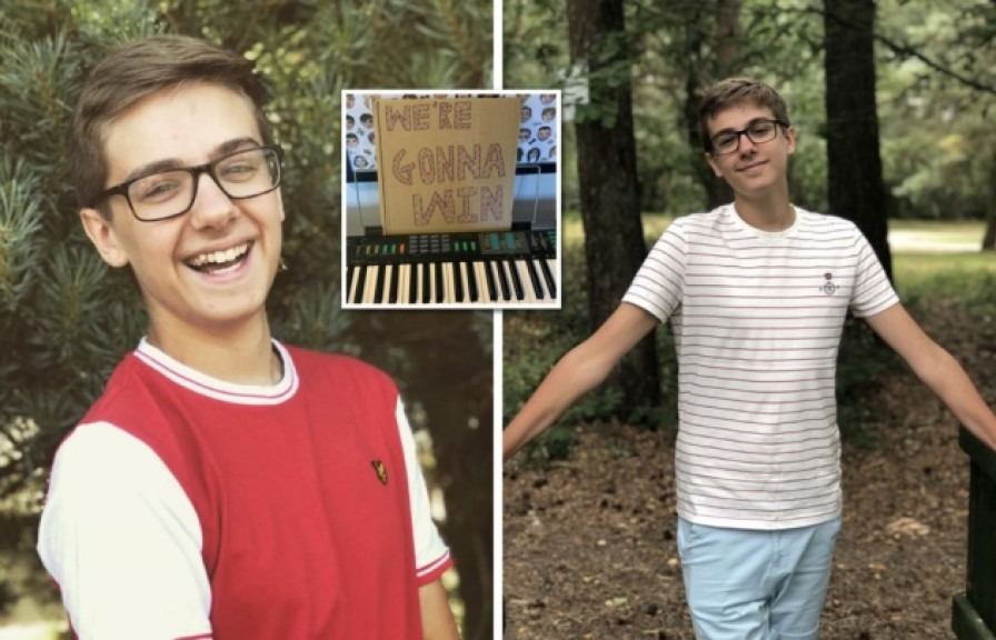 'Don't be afraid to talk about how you really feel': Teen filmed uplifting Covid-19 music video on his own in lockdown