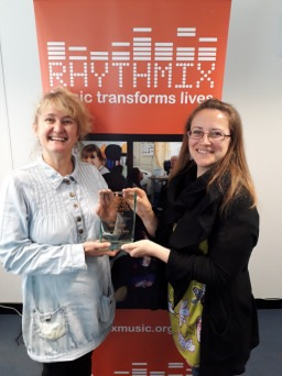Rhythmix wins Charity Today Award!
