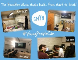 Basement space transformed for Music Making
