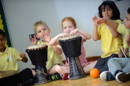 Tri-Music Together: an Early Years workforce development project