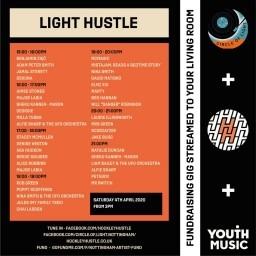 Circle of Light/ Light Hustle Charity Live Stream for Nottingham Artists