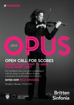 OPUS2016 calling all unpublished composers