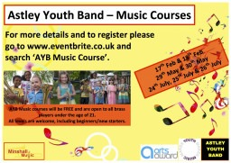 Astley Youth Band - Music Courses