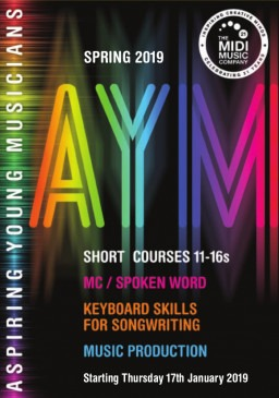 Spring 2019 AYM Short Courses at The Midi Music Company
