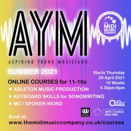 AYM Online Courses for 11-16s