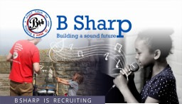 Chief Executive and Artistic Director with B Sharp music charity