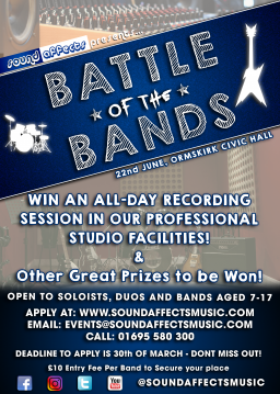 Sound Affects Music- Battle of the Bands