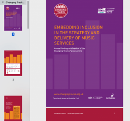 Embedding inclusion in the strategy and delivery of music services