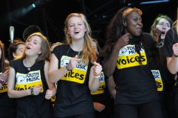 Singing opportunities for young people: East Midlands