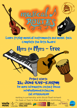 Musical Routes project starts Monday 21st June 21