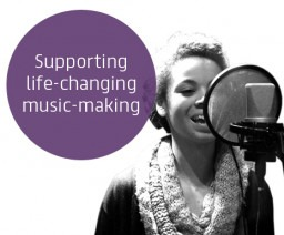 Is your project funded by Youth Music? We have new brand guidelines...