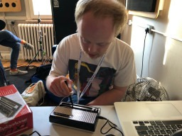 Synthesize Me! Using the legendary Stylophone instrument in a learning disability music project
