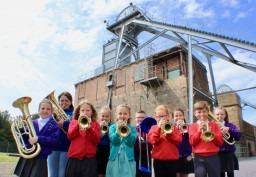 Brass is Back at Woodhorn Museum