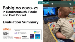 Babigloo Music for Babies: Evaluation Report 2020-21: Bournemouth, Poole and East Dorset