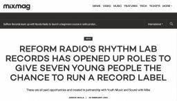 Rhythm Lab Records: Career Start | Press Coverage