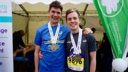 Congratulations to our fundraising marathon superstars!
