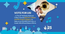 OHMI reach the final of the National Lottery Awards - please vote and share!
