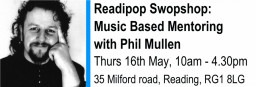 Music Based mentoring with Phil Mullen event