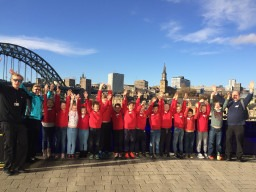 Whitley Memorial Pupils perform at the 40 years Brass in Concert event