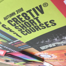 Cre8tiv® Short Courses for Over 16s & Adults  Autumn 2018