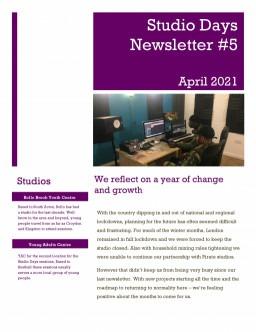 Bollo Studios newsletter 2021