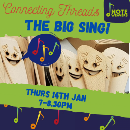 The Big Sing - free Connecting Threads Network event