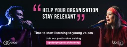 Upstart Projects' Youth Voice Training