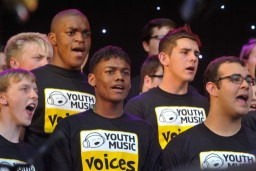 Singing opportunities for young people: North East