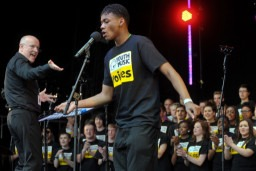 Singing opportunities for young people: West Midlands