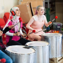 Young Musicians use art to connect their community