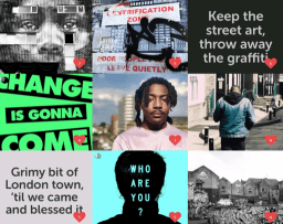 England's first online gallery to showcase young artists' response to gentrification