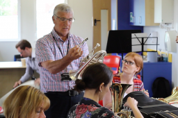 Northumberland School Teacher gear up for their second professional Development session on Brass!