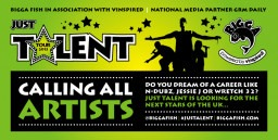 Bigga Fish in association with vInspired and GRM Daily Presents the Just Talent Tour!