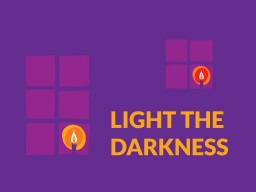"""Commemorating Holocaust Memorial Day 2021 and being a """"Light in the Darkness""""."""