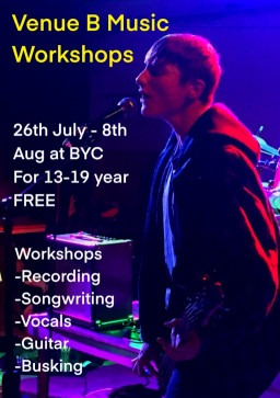 Summer activities at Brighton Youth Centre for 13-19 year olds