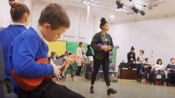 How can music services help prevent school exclusion through nurture groups?