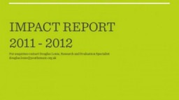 Youth Music Impact Report 2011-2012